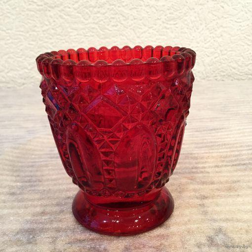 Лампада Рубиновая, стекло