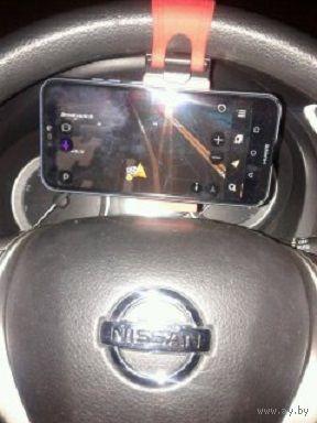 Крепление для телефона на руле машины