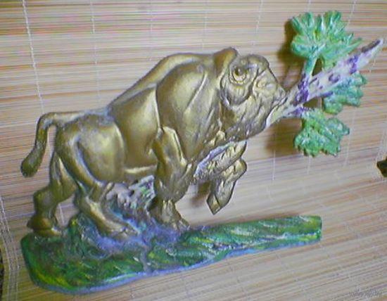 Зубр - эмблема Беловежской  пущи