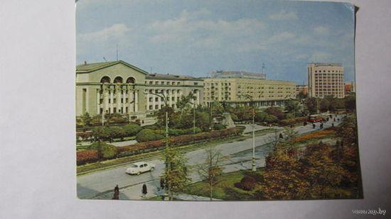 Г Свердловск 1972г проспект Ленина памятник Свердлову