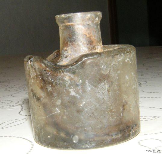Чернильница стекло Германия  18 век