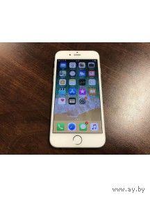 """Apple iPhone 6 16GB Apple iOS, экран 4.7"""" IPS (750x1334), Apple A8, ОЗУ 1 ГБ, флэш-память 16 ГБ, камера 8 Мп, аккумулятор 1810 мАч, 1 SIM, цвет белый, очень хорошее состояние, все работает, имеи сходя"""