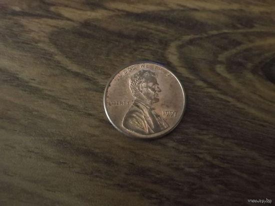 США 1 cent 1997