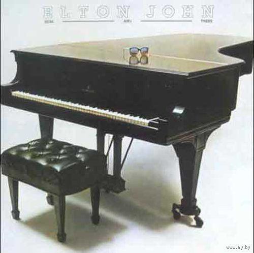 LP Elton John - Here And There (1976)