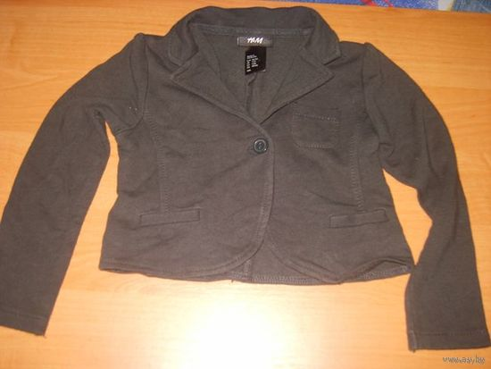Пиджачок H&M р.1-2г рост 86-92 для девочки
