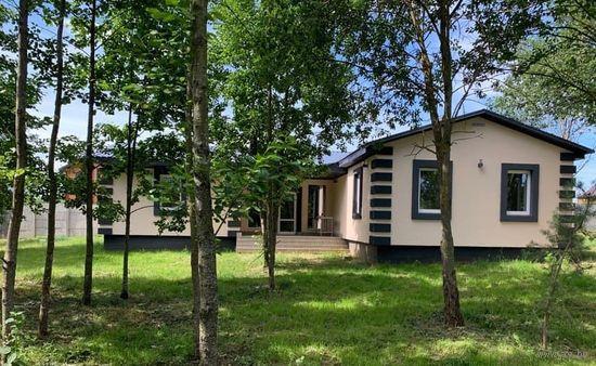 Новый дом с баней пл.137м и уч 12 соток 35 км от Минска Дудутки д. Маховка 53 т уе