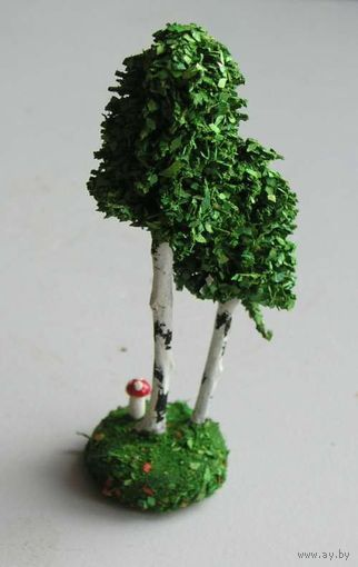 Дерево для ж-д макета производство ГДР вид 4