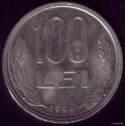 100 Лей 1994 год Румыния Дракула