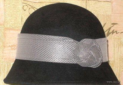 Шляпа с опущенными полями р-р 56