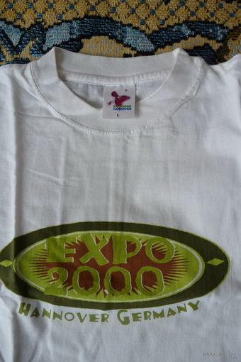 Мужская футболка (майка) EXPO 2000, р. L (Германия)