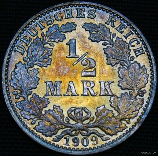 1/2 марки 1909 J