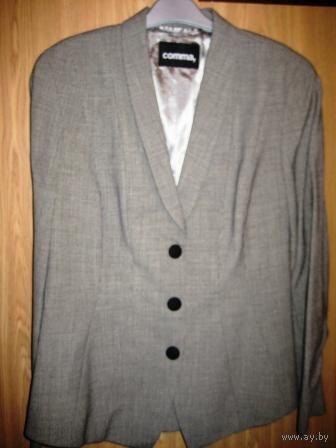 Офисный-стильный пиджак р.48-50 БельгияК праздникам СКИДКА 5000р.
