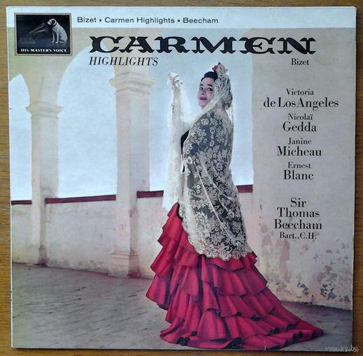 Bizet. Carmen Highlights  - Thomas Beecham, LP
