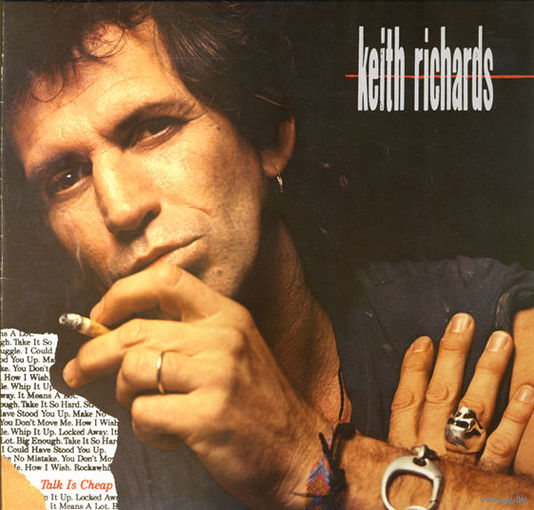 Keith Richards - Talk Is Cheap - LP - 1988