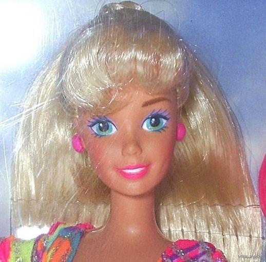 Кукла барби на роликах-Кукла Barbie Hot Skating фирмы Mattel, 1994 г. Полностью шарнирная.