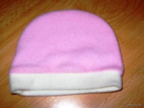 Флиссовая шапочка на малышку