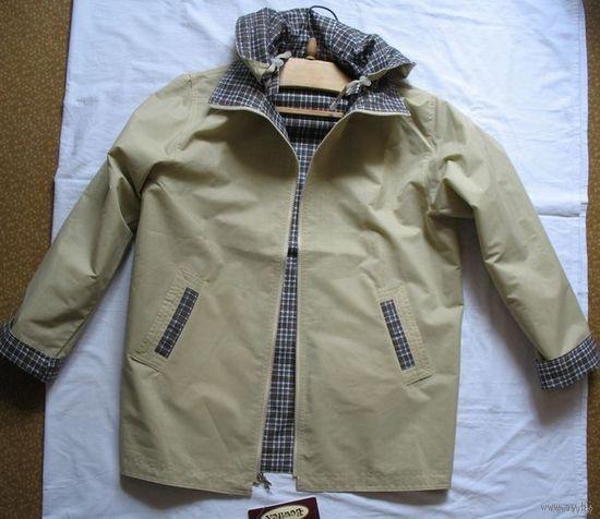 Куртка-Ветровка женская фабричная (Польша), двухсторонняя, размер 50-54, рост 160 -175