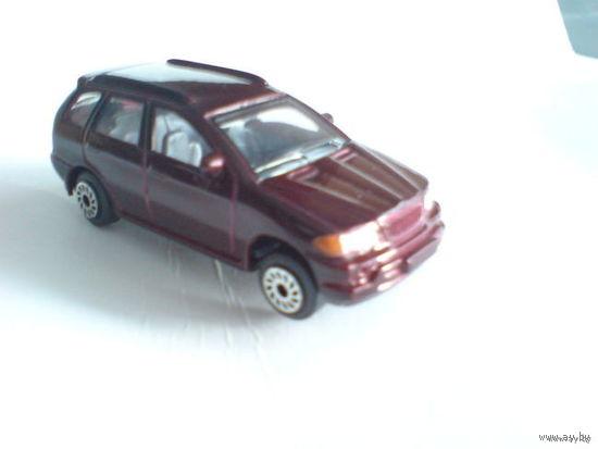 Модель машинки цвет вишня перламутр. металл  BMW X5 распродажа коллекции