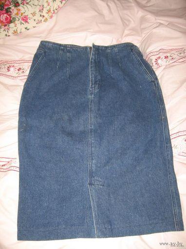 Юбка джинсовая 46-48