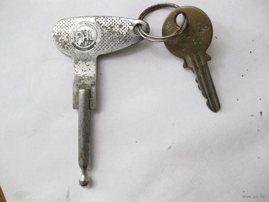 Оригинальные ключи к мотоциклу ЯВА 634-350.