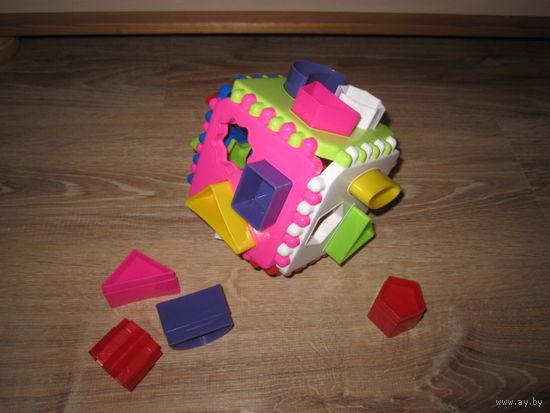 Сортер - логический куб