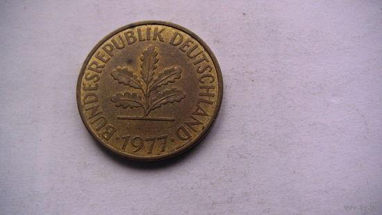 10 пфенингов фрг 1977г (J)   распродажа