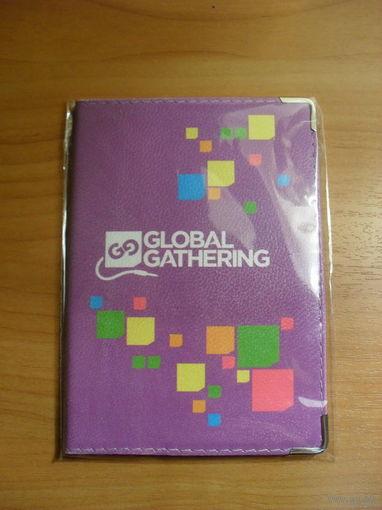 """Обложка для паспорта """"Global Gathering"""""""