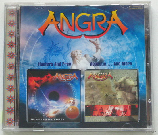 Angra - Hunters And Prey / Acoustic ... And more CD [Melodic Heavy/Power Metal]
