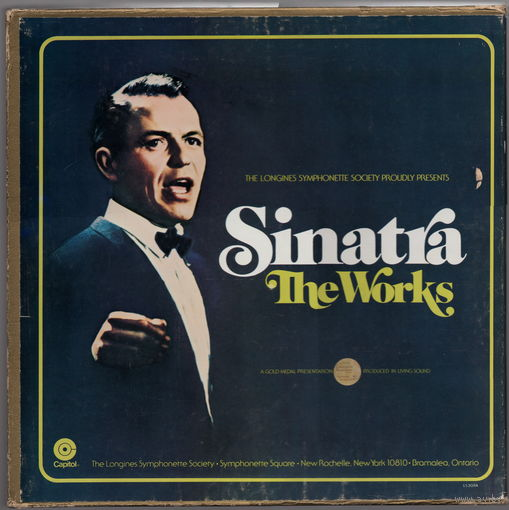 11 LP Frank Sinatra 'The Works'