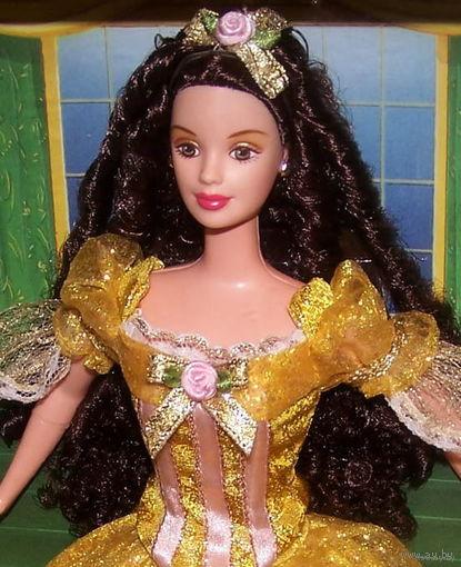 Кукла Барби/Barbie BEAUTY AND THE BEAST BELLE из детской коллекционной серии фирмы Mattel, 1999 г.