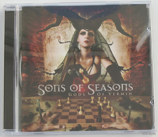 Sons Of Seasons - Gods Of Vermin CD (лицензия) [Symphonic/Progressive Metal]