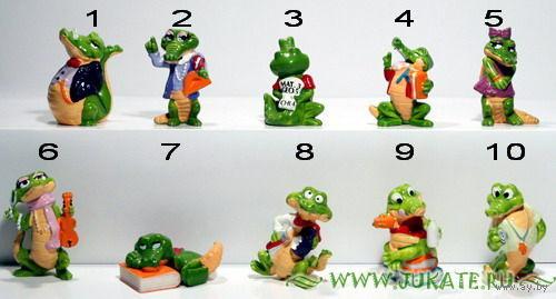Крокодилы школьные - серия