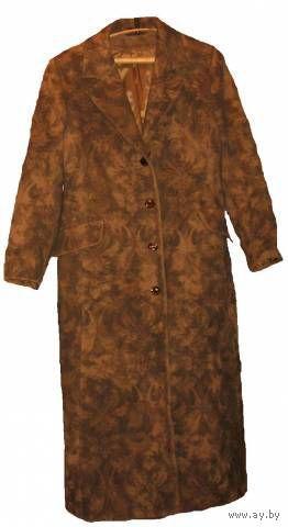 Изысканное классическое осеннее пальто р-р 48-50