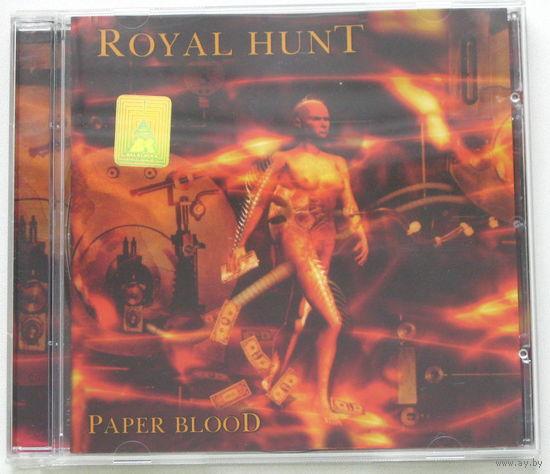 Royal Hunt - Paper Blood CD [Melodic Metal/Progressive Metal]