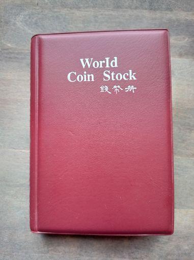 Монеты в альбоме, 122 шт, без МЦ