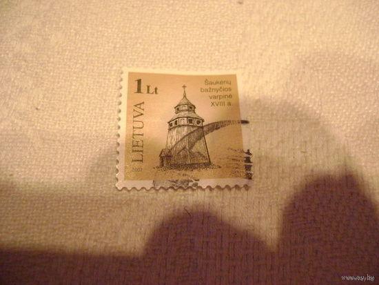 Марка почты Литвы