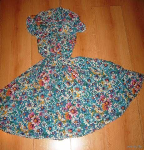 Платье 6-9 лет