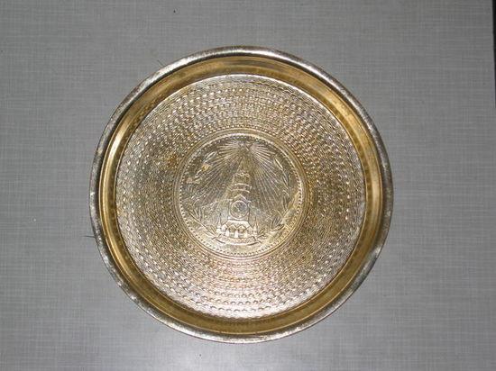 Тарелка от бритвенного прибора (с изображением Спаской Башни)