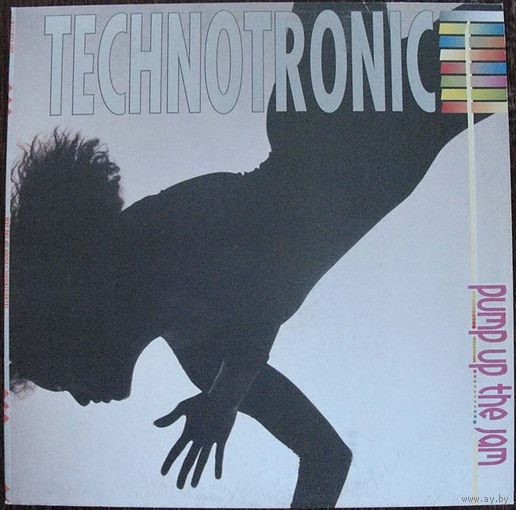 "Technotronic ""Pump Up The Jam"" LP, 1989"