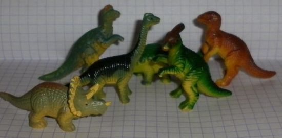 Набор динозавриков