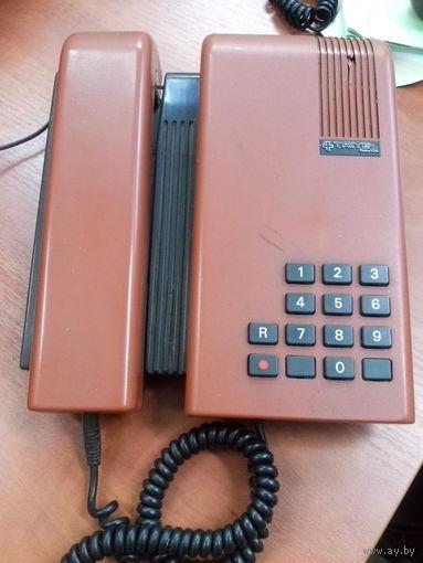 Телефонный аппарат TRITEL,повтор последнего набранного номера,электронный звонок,хорошая слышимость входящего и исходящего разговора