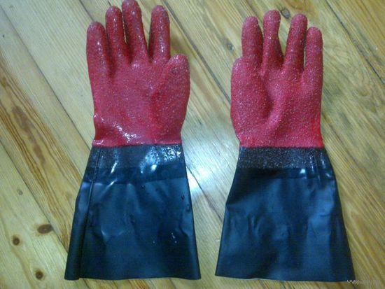 Перчатки для сортировки рыбы
