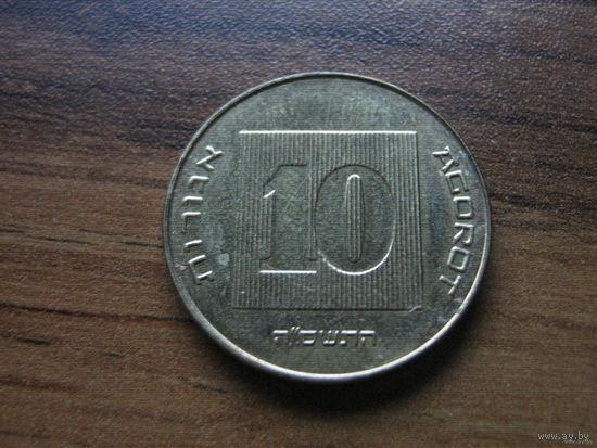 Израиль 10 агорот 2005