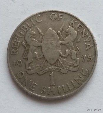 Кения, 1 шиллинг 1975 год