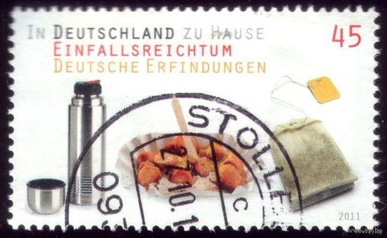 1 марка 2011 год Германия Обед гастарбайтера