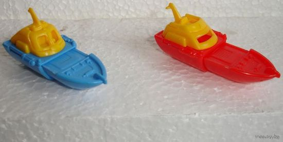 Киндер 90-х катер кораблик набор 2 шт