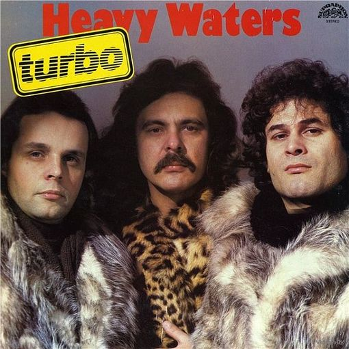 Turbo -  Heavy Waters - LP - 1985