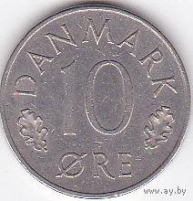 10 эре 1978 Дания