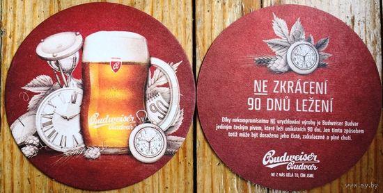 Подставка под пиво Budweiser No 13