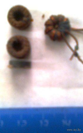 Ферритовые кольца (мелкие) 5 шт. цена за все.